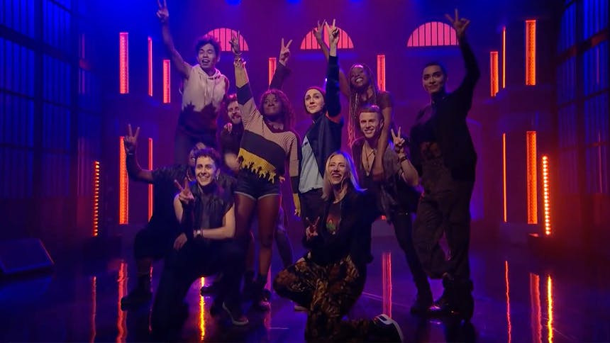 "Get a Taste of Jagged Little Pill as the Cast Performs ""Han…"