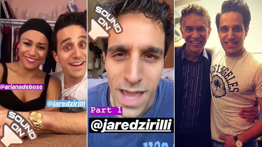 Summer, the Donna Summer Musical Star Jared Zirilli Takes Instagram