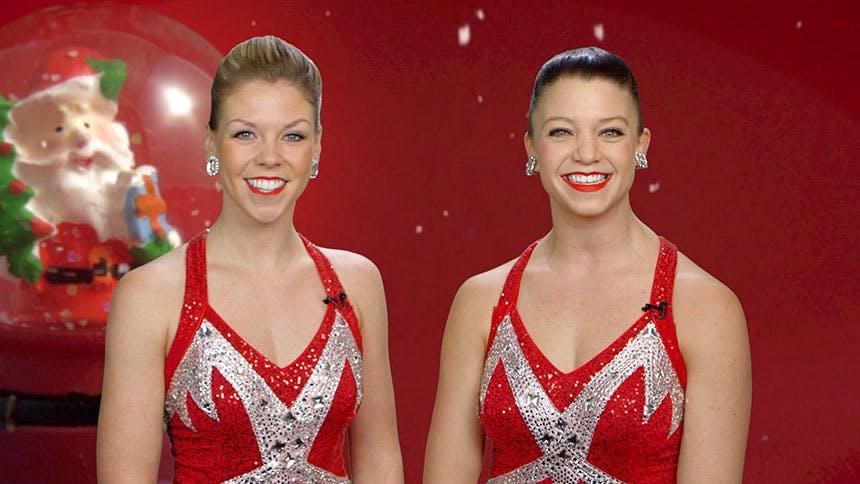 Holiday Time! Radio City Rockettes  Jessica Palu & Brittany…