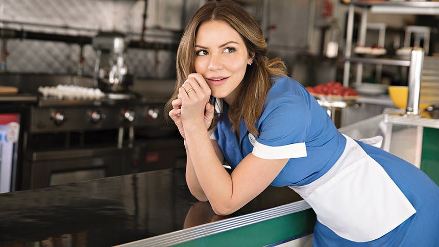 Five Burning Questions With Waitress Star Katharine Mcphee The Daily Scoop