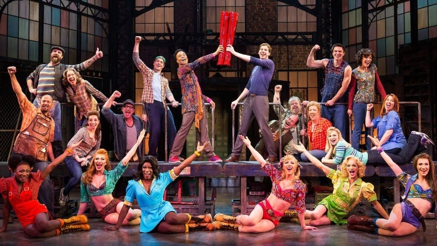 Hot Clip of the Day: Raise KINKY BOOTS' Cyndi Lauper Up! It…