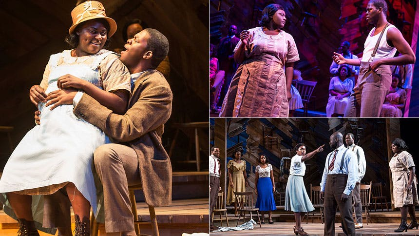Five Burning Questions with The Color Purple Star Kyle Scat…