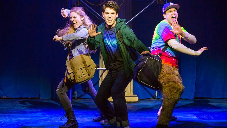 15 The Lightning Thief: The Percy Jackson Musical GIFs That…