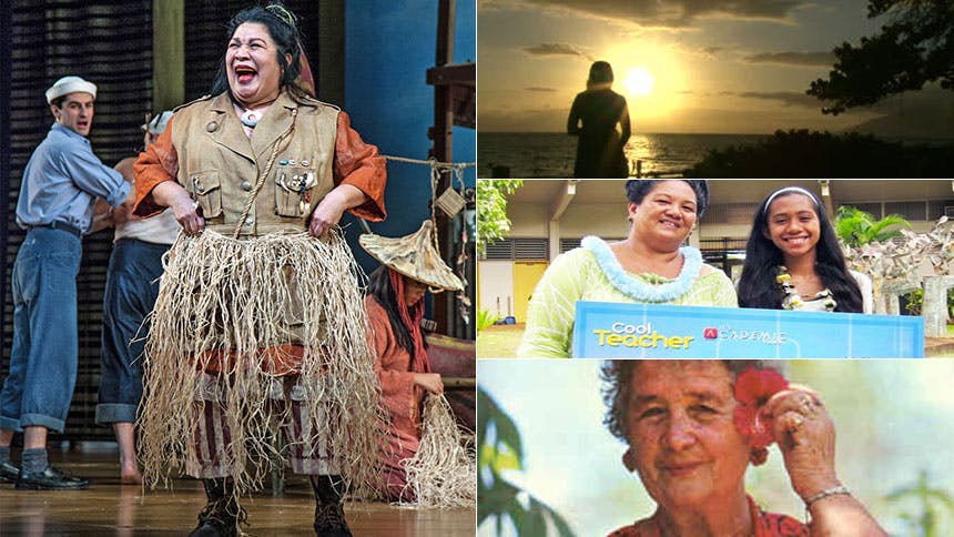 South Pacific's Tony Nominated Star Loretta Ables Sayre R...