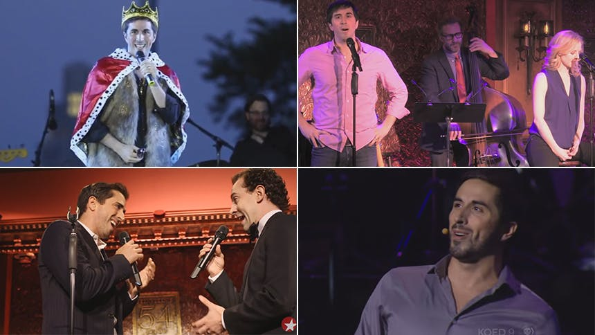 Eight Videos of An American in Paris' New Star Matthew Sc...