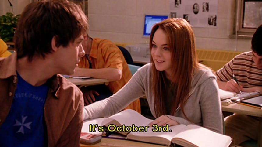 It's October 3! 15 Timeless Mean Girls Movie GIFS For Ton...