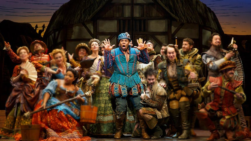 Five Burning Questions with Something Rotten! Star Michael …