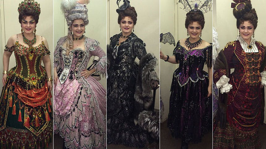 Furs, Gowns & Extravaganza! Phantom's Michele McConnell B...