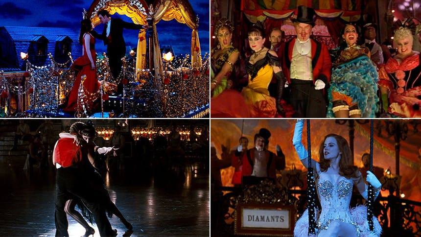 All the Musical Numbers in the Moulin Rouge Film, Ranked