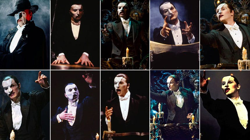 The Phantom of the Opera Turns 30! Watch Every Actor Who Pl…