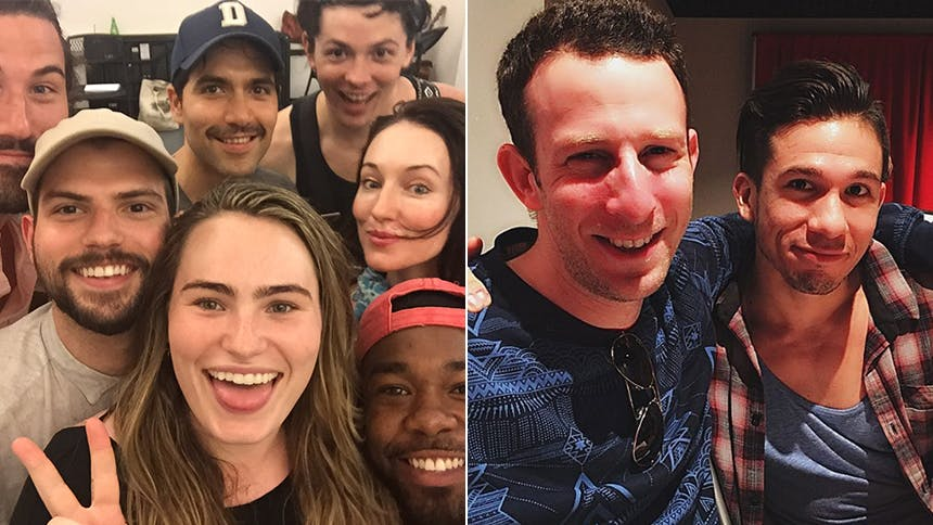 Photos! A Day in the Life of NYMF Stars Kathryn Gallagher &…