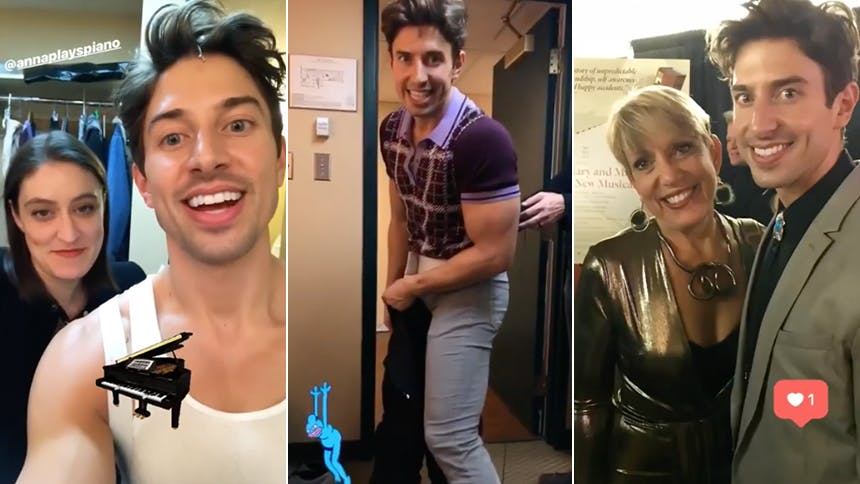 Nick Adams Brings Instagram Along For A Two Show Day At Theatre Calgary S World Premiere Of The Musical Mary And Max The Daily Scoop
