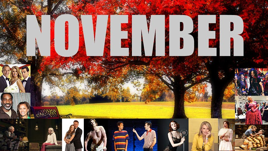 15 Plays, Musicals & Concerts You Shouldn't Miss This Nov...