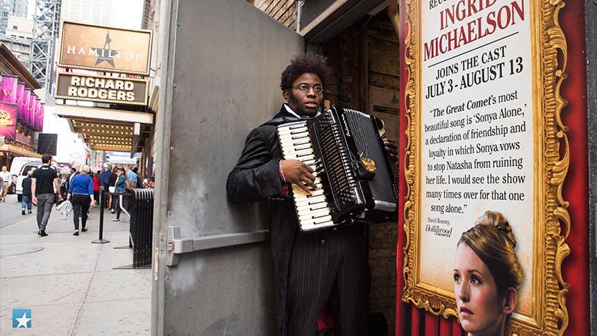 Exclusive Photos! Go Backstage at Broadway's Natasha, Pierr…