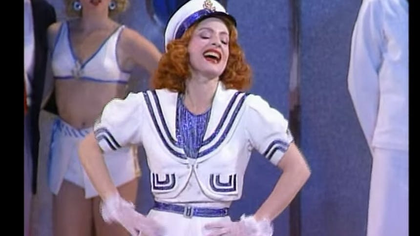 """Hot Clip of the Day: Patti LuPone Belting """"Anything Goes""""..."""