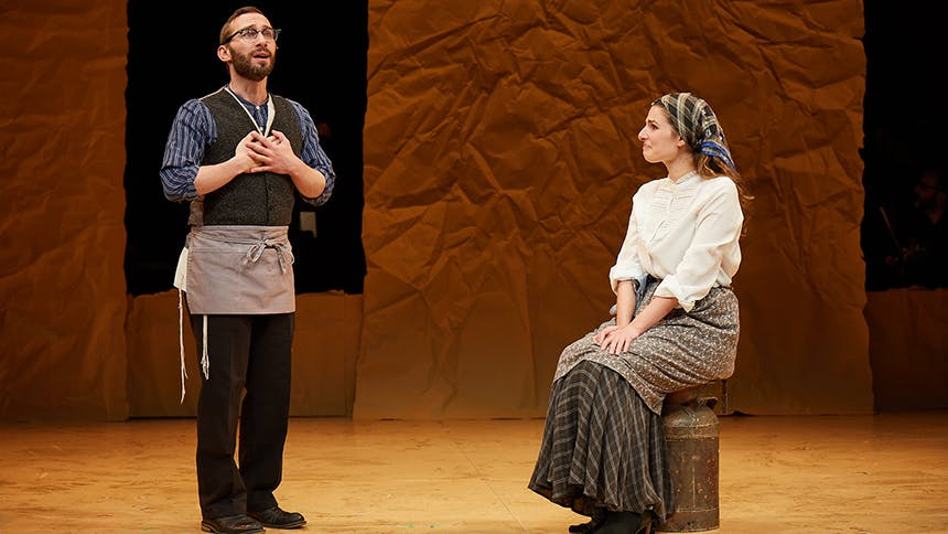 Fiddler on the Roof Duo Rachel Zatcoff & Ben Liebert Talk...