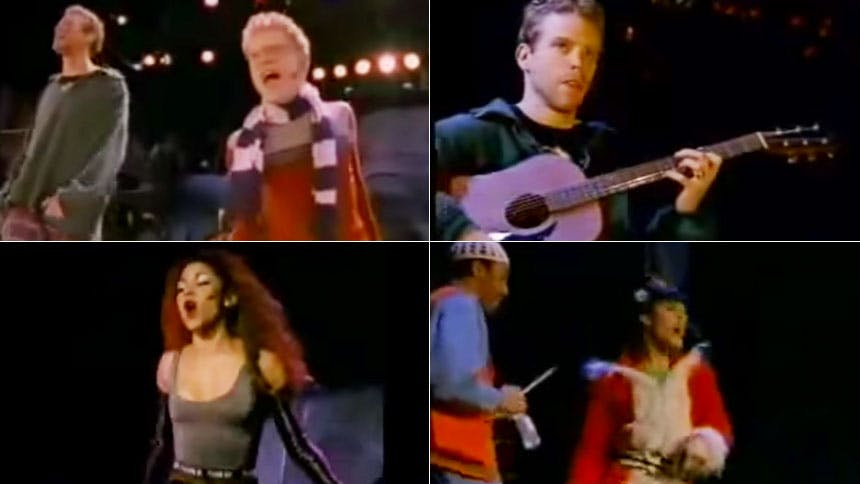 Hot Clip of the Day: #FlashbackFriday to Rent's OBC B-Roll