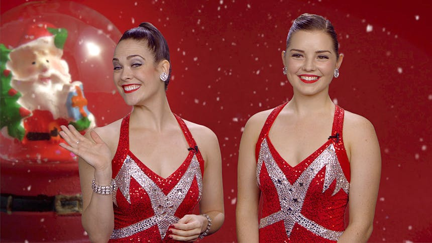 Holiday Time! Radio City Rockettes Brittany Paige Snyder & …