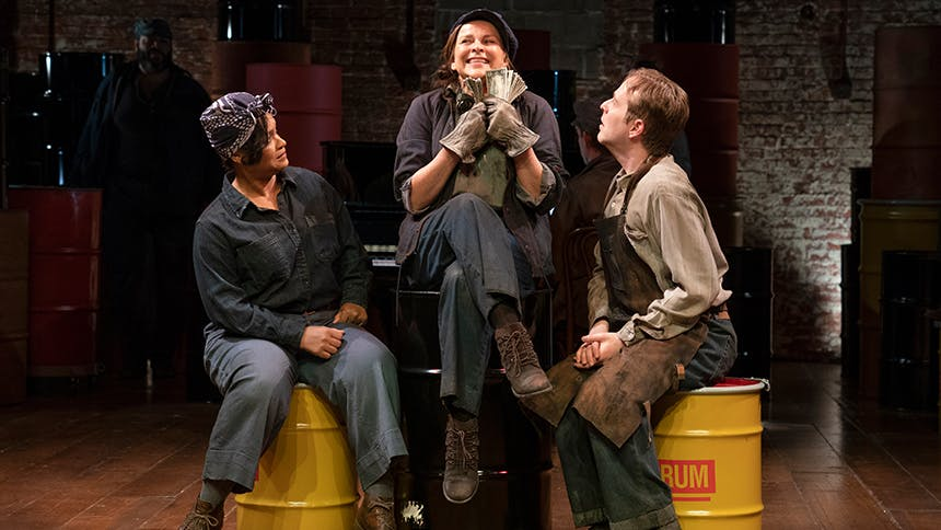 Sally Ann Triplett Talks The Cradle Will Rock, Carrie Mem...