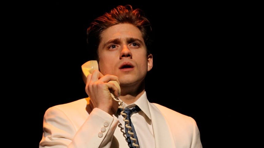 """Hot Clip of the Day: Aaron Tveit Serenading Us With """"Seven …"""