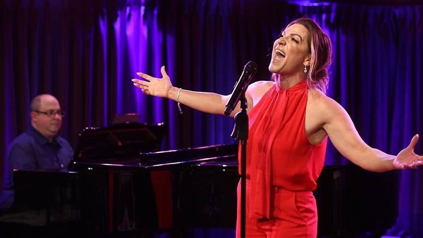 Waitress Star Shoshana Bean Performs Musical Numbers from...