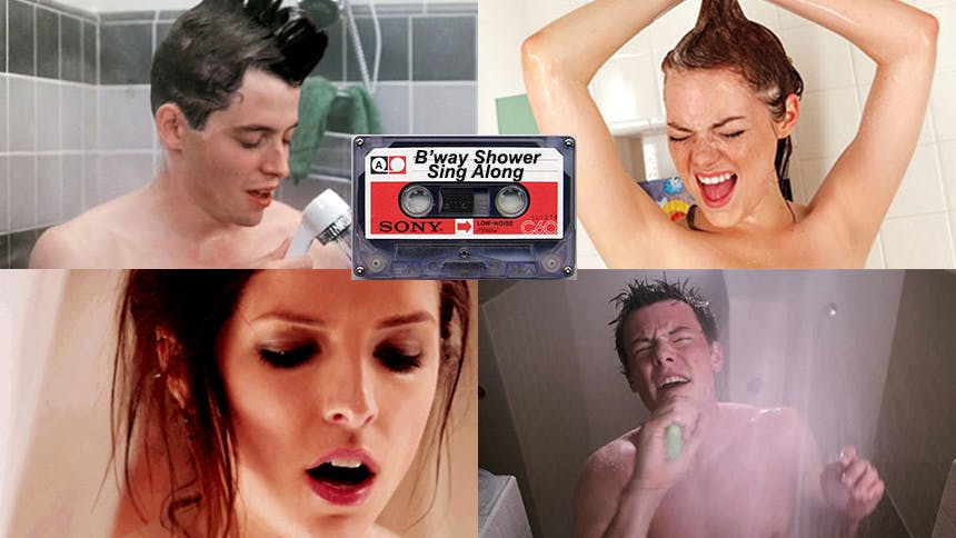 Friday Playlist: Shower Showtune Sing-Along Songs