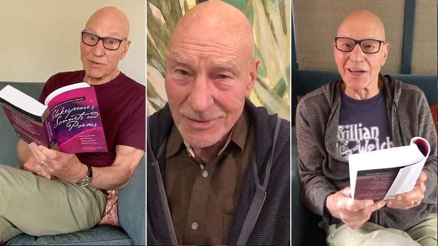 Brush Up On Your Shakespeare with Sir Patrick Stewart & H...