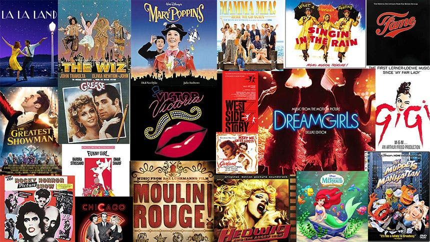 Friday Playlist: The Big, Ultimate Movie Musical Playlist