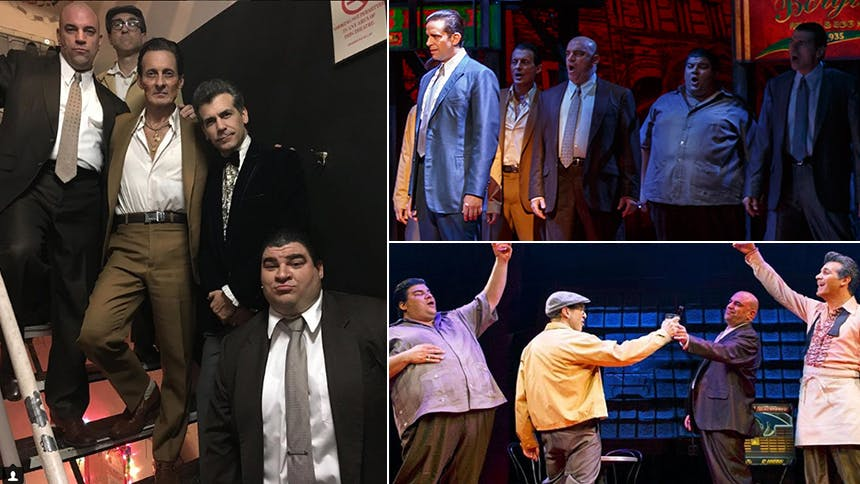 Get to Know the Guys in Sonny's A Bronx Tale Gang: Joey Sor…
