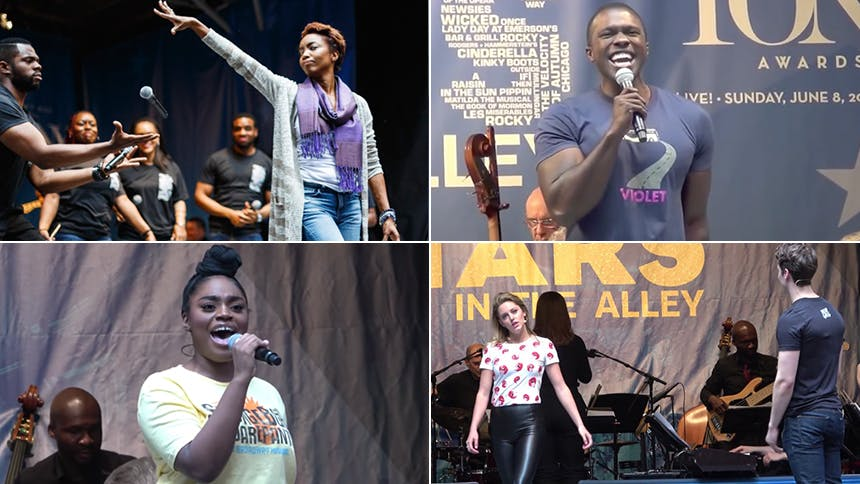 Five Absolutely Essential Videos from Broadway's Stars in...