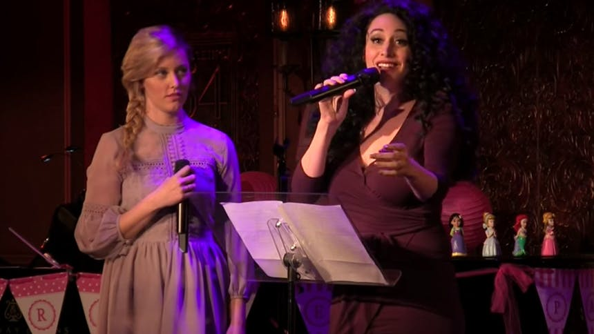 Lesli Margherita & Taylor Louderman Bring Tangled to Life...