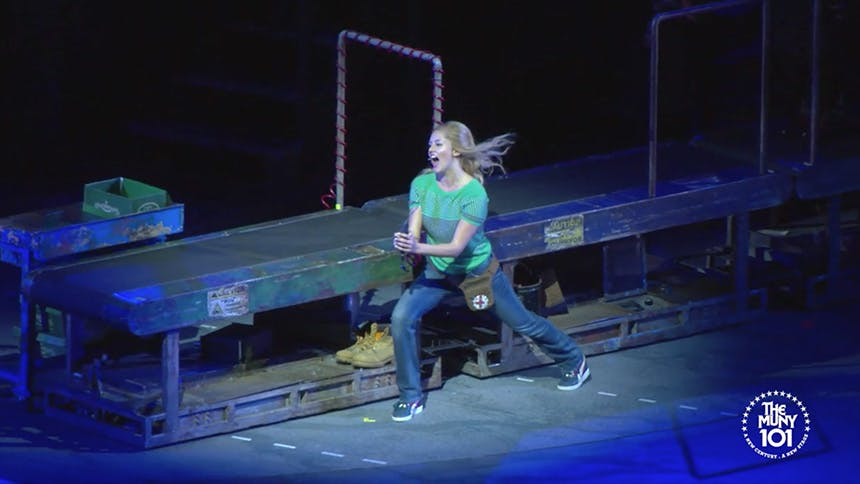 Exclusive Video! Take a First Look at Taylor Louderman Pe...