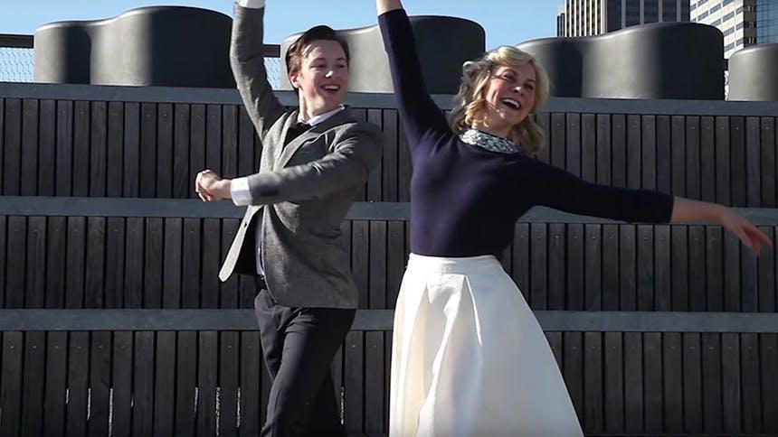 Hot Clip of the Day: Cory Lingner & Eloise Kropp Recreate...
