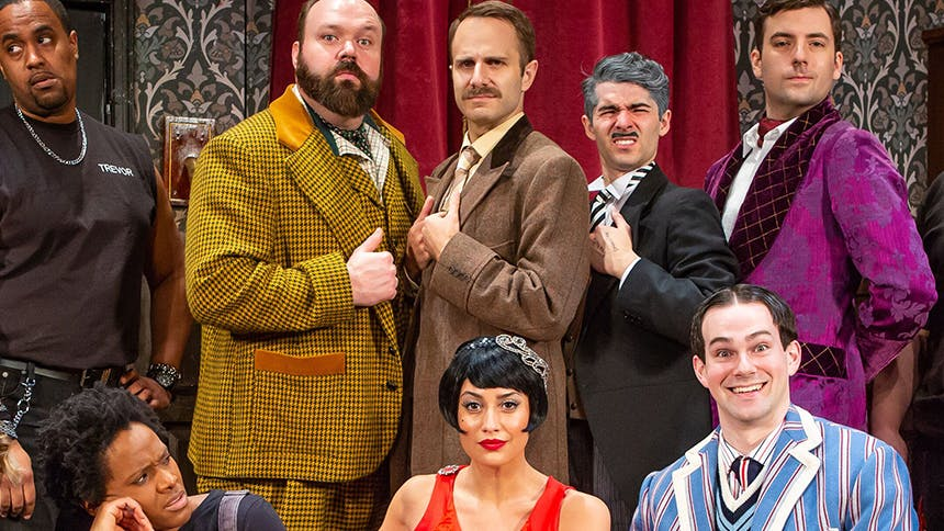 The Play That Goes Wrong Cast Sounds Off on Perfect Comedie…
