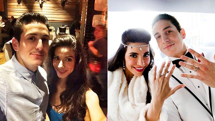 Meet Your New Crushes: Tony N' Tina Newlyweds Joe Ferraro...