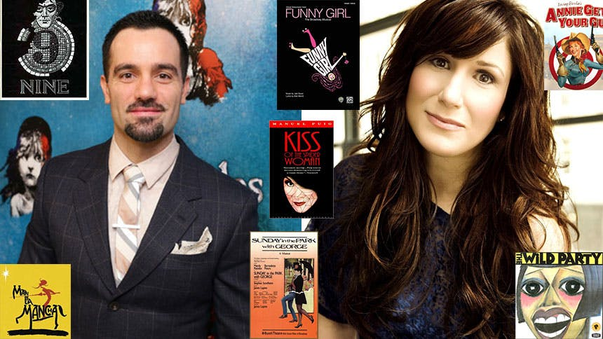 7 Shows the Birthday Boy and Girl, Ramin Karimloo and Ste...