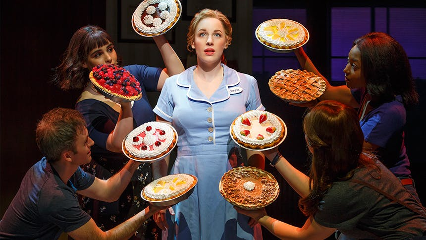 The Waitress Cast Tells Us What They'd Do with the $20,00...