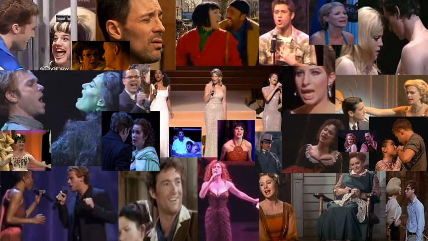 YouTube Playlist! 50 Broadway Love Songs to Take You Thro...