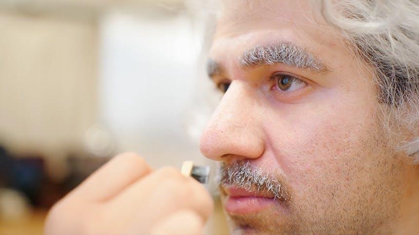 Watch Zal Owen Transform Into Albert Einstein for the New...