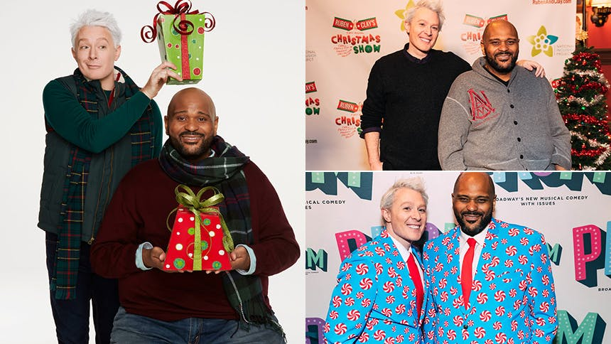 Ruben Studdard & Clay Aiken Talk Their Annual Christmas Sho…