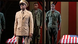 Check Out Three Scenes from Broadway's Explosive New Drama A Soldier's Play