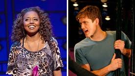 Tony Award Winners Adrienne Warren & Aaron Tveit's First Or…