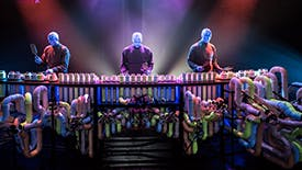 There's an Interactive Blue Man Group Installation Heading to the Museum of the City