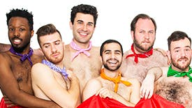 The Stars of the Off-Broadway Musical Camp Morning Wood Talk Iconic Nude Scenes, Camp Classics & World Pride Recommendations