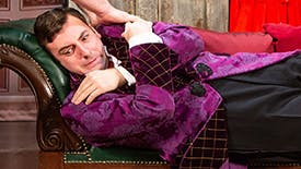 Go Behind the Scenes at The Play That Goes Wrong for Their 100th Show Off-Broadway with Chris Lanceley