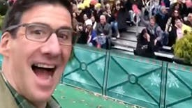 David Josefsberg Takes Instagram Behind the Scenes For Beetlejuice's Performance on the Thanksgiving Day Parade
