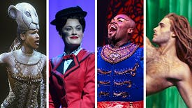 12 Magical Disney Performances from Live at the New Am's Brown, Scott, Simmons and Strickland!
