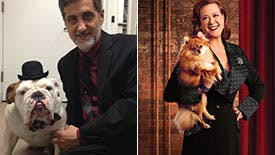 Doggy Hour! Broadway Pups Reveal What Celebrity Dog They Most Want to Share a Bone With