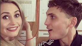 Eamon Farren Takes Instagram Backstage for a Funfilled Two-Show-Day at Broadway's The Present
