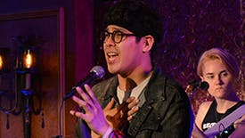 "Exclusive First Listen! George Salazar Performs ""Pura Vida"" From The Jonathan Larson Project Cast Recording"